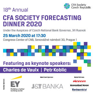 CFA society forecasting dinner 2020